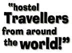 hostel travellers from around the world