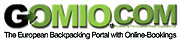 Gomio.com The European Backpacking Portal with Online-Bookings