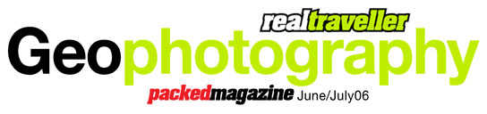 Geo Photography - Packed Magazine
